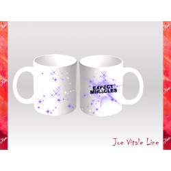 Tazza Joe Vitale EXPECT MIRACLES universo